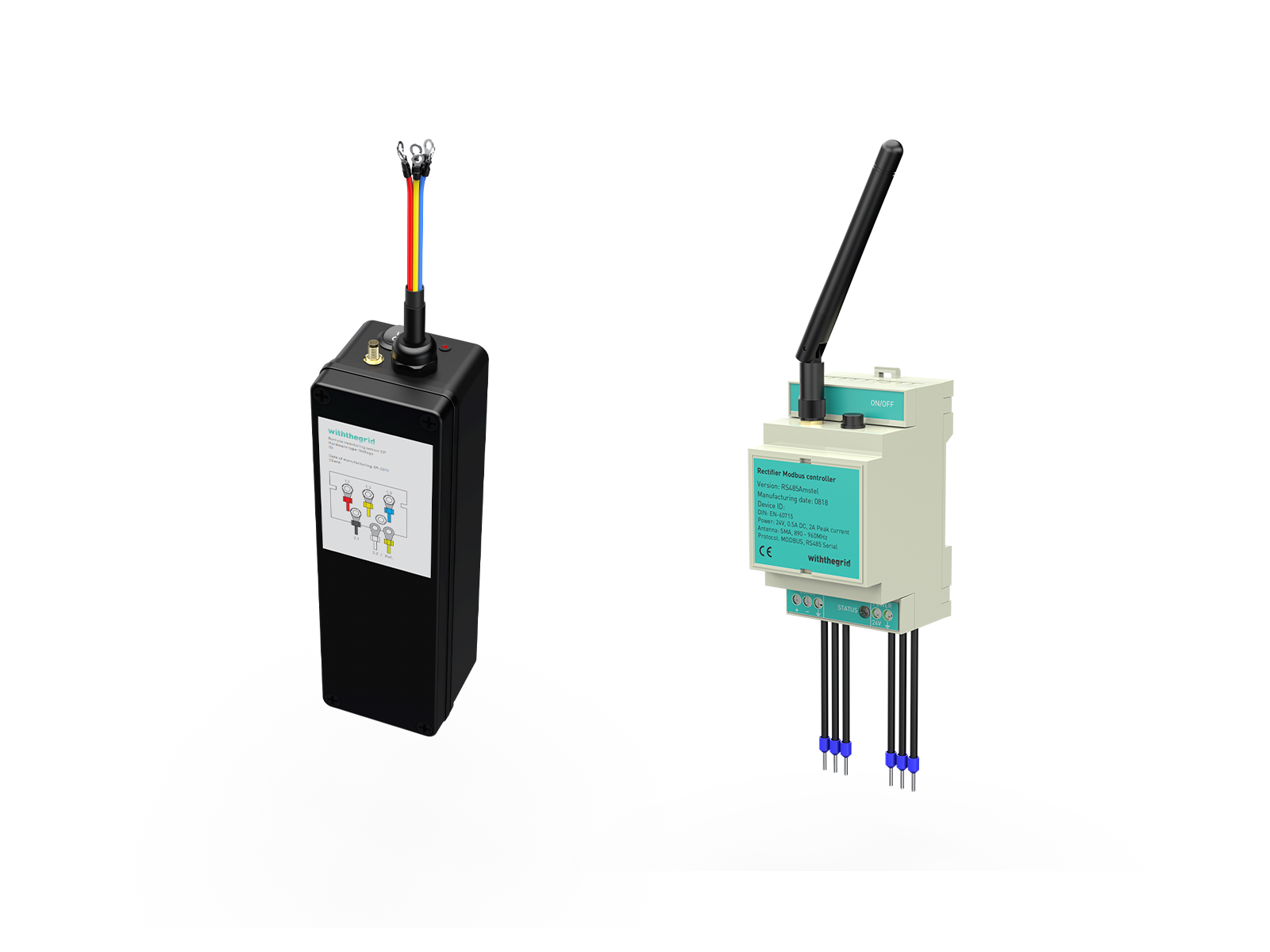 Cathodic protection remote monitoring devices