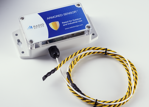 Water rope sensor for water detection
